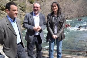 El presidente de la Diputación presidió ayer el acto de presentación de la campaña turística del 2013 (foto: Diputació de Lleida)