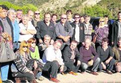Els taxistes que ahir van anar a l'assemblea de Montardit