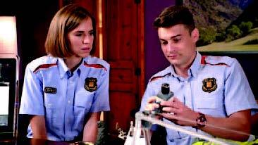 Aina Clotet y Roger Coma son los dos protagonistas de la serie (foto: TVC)