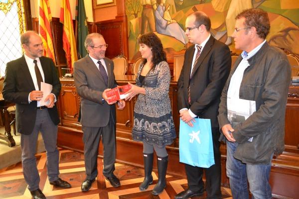 """El premio """"Saps d'Empresa?"""" tuvo lugar en el marco de la feria F&T, dedicada a la Formación Profesional (foto: Diputació de Lleida)"""