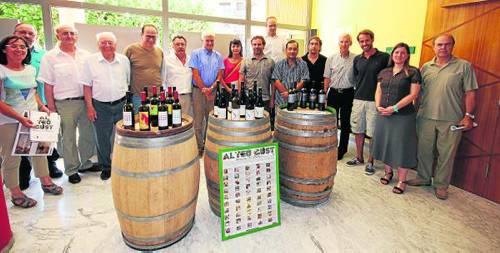 Els viticultors del Pallars, reunits ahir a Tremp (foto: Lleonard Delshams)