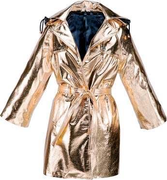 Reversibles · El daurat propi de les festes de Nadal, quan pensem més en la Bruixa d'Or, és protagonista de jaquetes reversibles