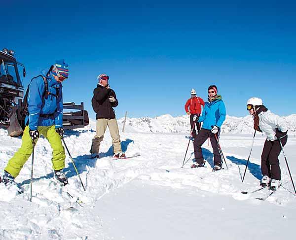 Los esquiadores podrán volver a esquiar por las montañas del municipio de Llessui, en el Pallars Sobirà (foto: ACN)