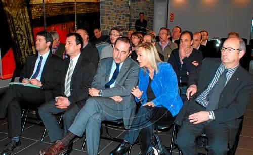 El conseller Ramon Espadaler es va reunir amb els alcaldes del Pallars Sobirà (foto: ACN)